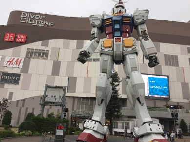The Giant Gundam at Diver City