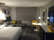 Our room at the Concourse LAX