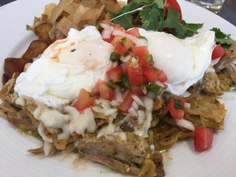 Huevos Ranchero for Breakfast